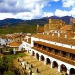 El magnífico Parador de Guadalupe en Cáceres